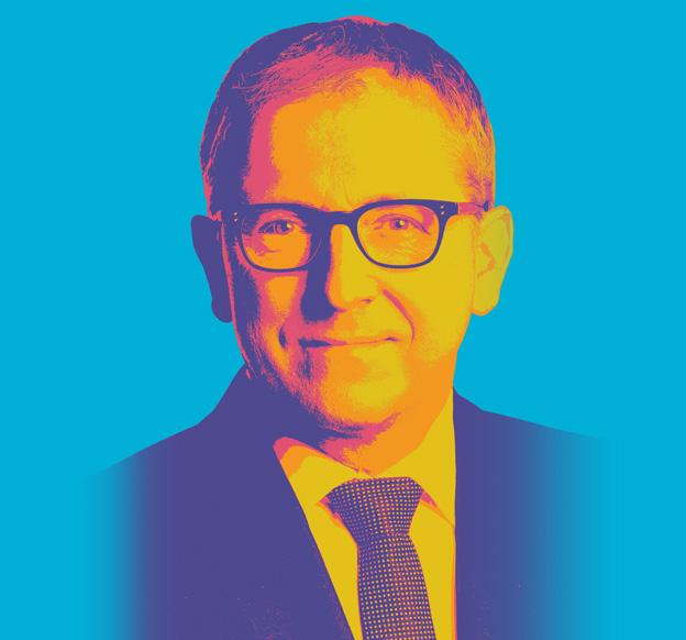 Das Bild zeigt Dr. Peter Kurz, den Oberbürgermeister der Stadt Mannheim