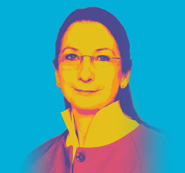 Das Bild zeigt Christiane Ram, Fachbereichsleitung Wirtschafts- und Strukturförderung der Stadt Mannheim