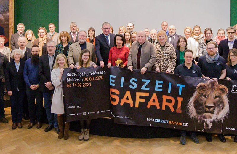 Gruppenfoto zum Thema Eiszeit Safari der rem.