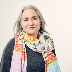 Mitarbeiterbild Angelika Strauss (Abteilung Freiraum / Ausstellungskonzeption)
