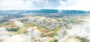 © Foto: IBA Heidelberg, PHVision Aerial | Rendering: KCAP Architects&Planners
