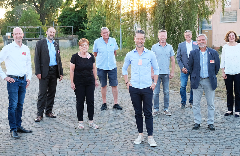 Vorstand des Freundeskreises der Bundesgartenschau