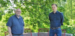 Herr Költzsch und Herr Goldschmidt im Luisenpark